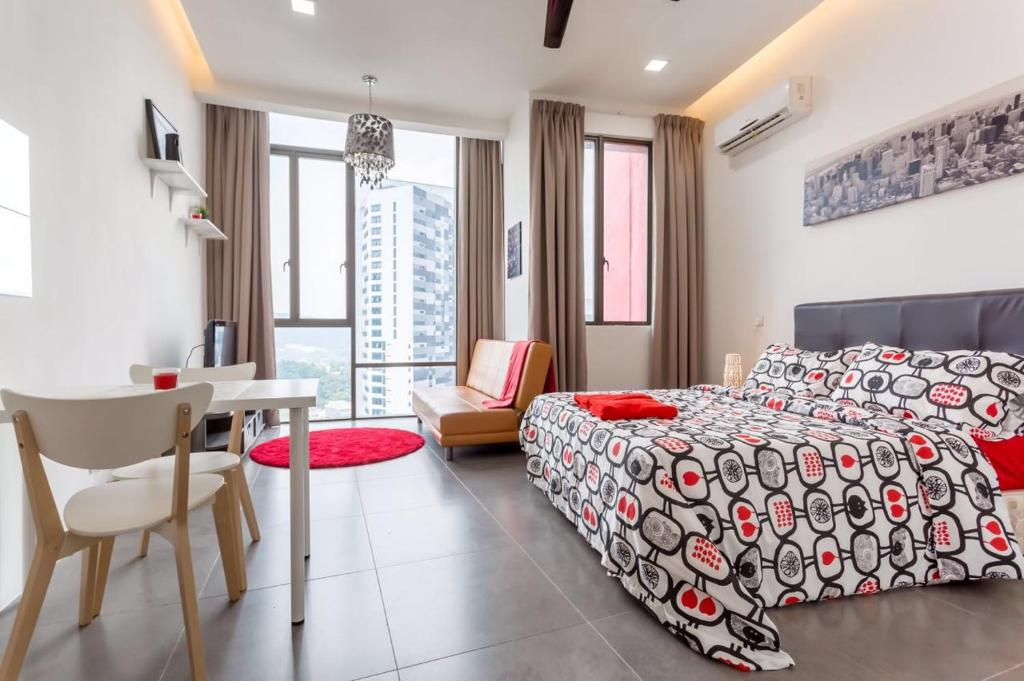 Studio Apartment Empire Damansara d'door guesthouse@ empire damansara, petaling jaya, malaysia