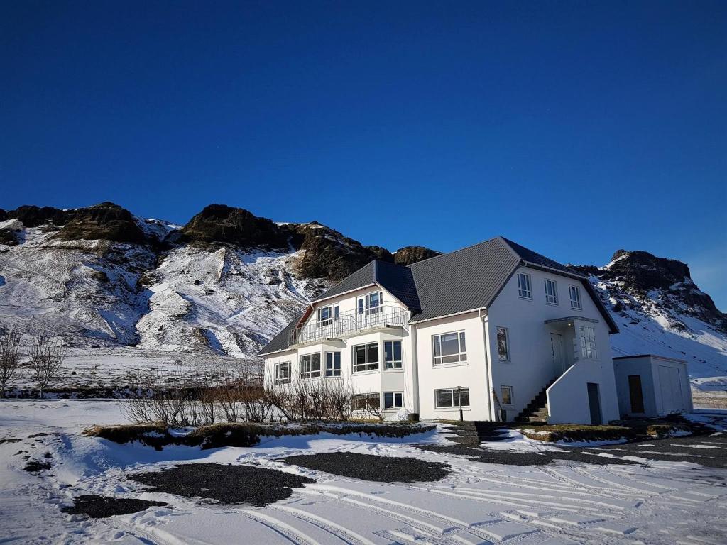 Guesthouse Carina en invierno