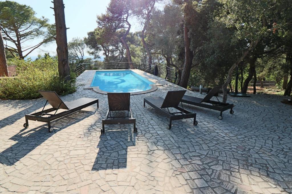 Villa del sole con piscina e giardino italia casarano - Villa italia piscina ...