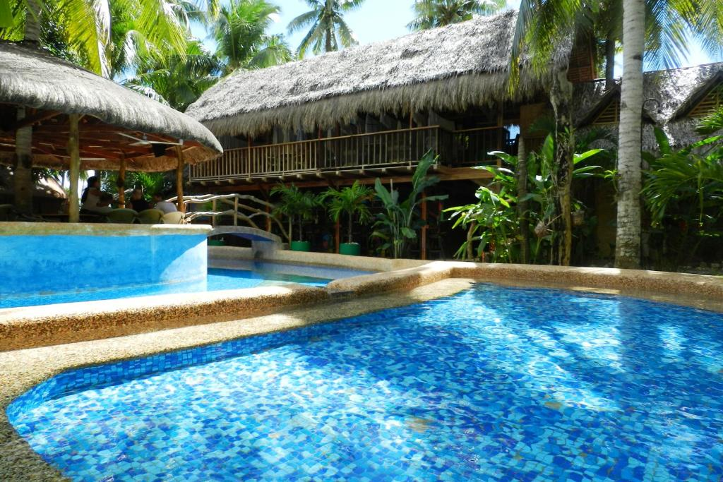 The swimming pool at or near Panglao Chocolate Hills Resort