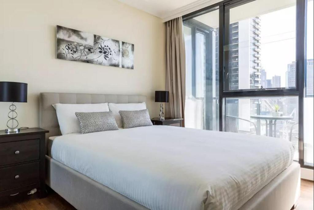 A bed or beds in a room at Apartment 88