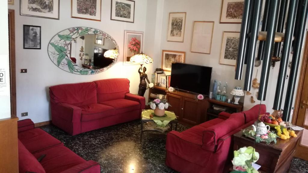 Area soggiorno di Albergo Le Rose