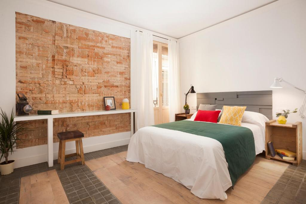 A bed or beds in a room at Boutique 1847