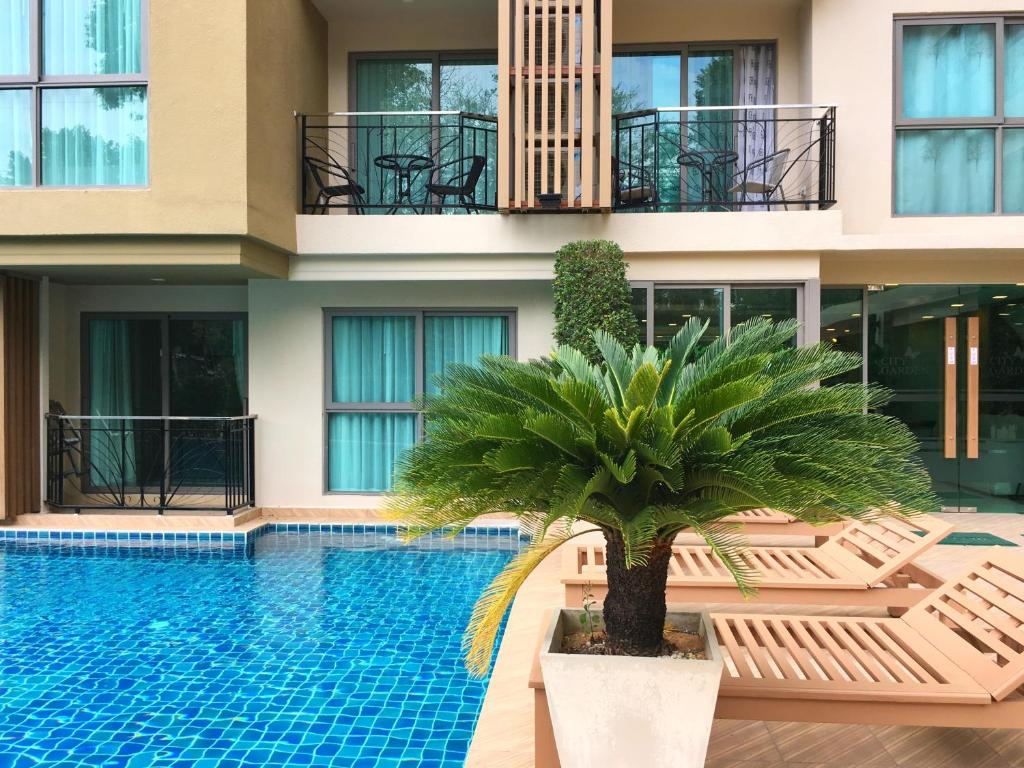 Apartment in City Garden Tropicana, Pattaya North, Thailand ...