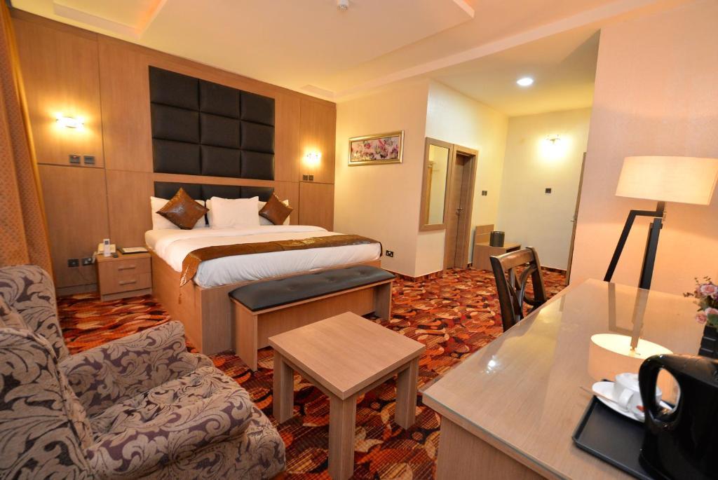 Hotel Treasures Suites Abuja Nigeria Booking Com