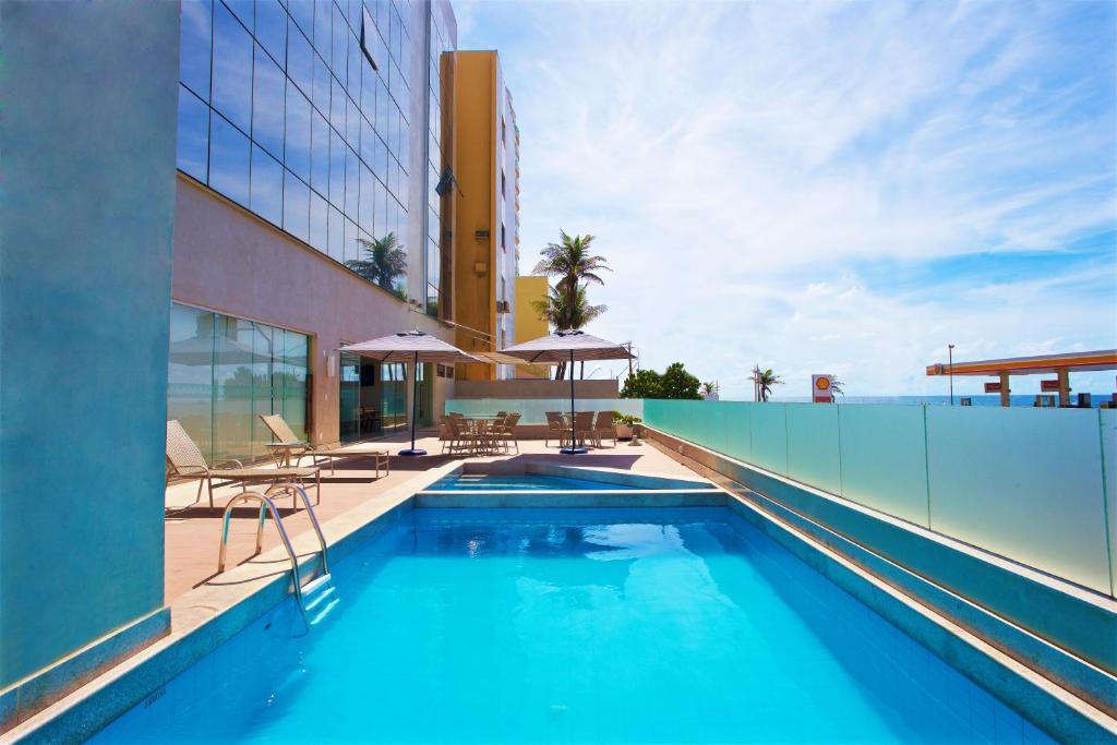 A piscina em ou perto de Marano Hotel