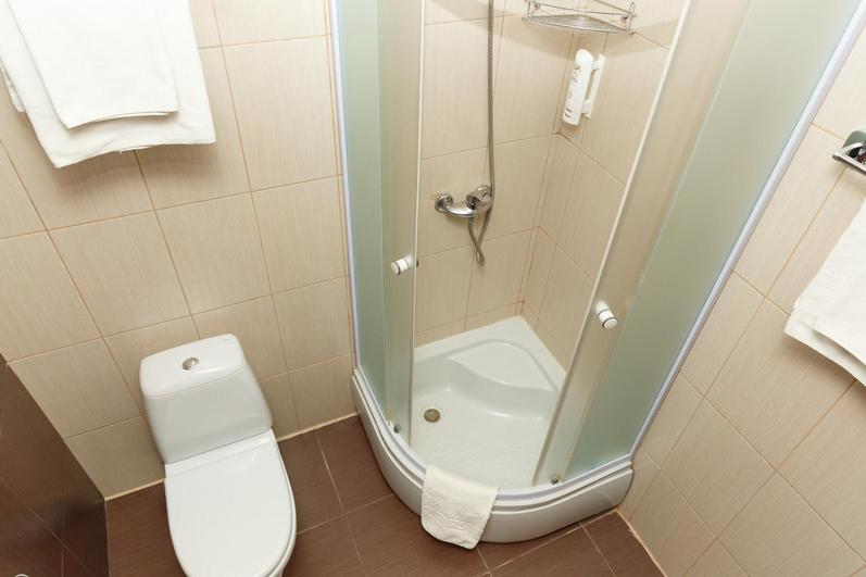 Ванная комната в Отель Мартон на ВЛКСМ
