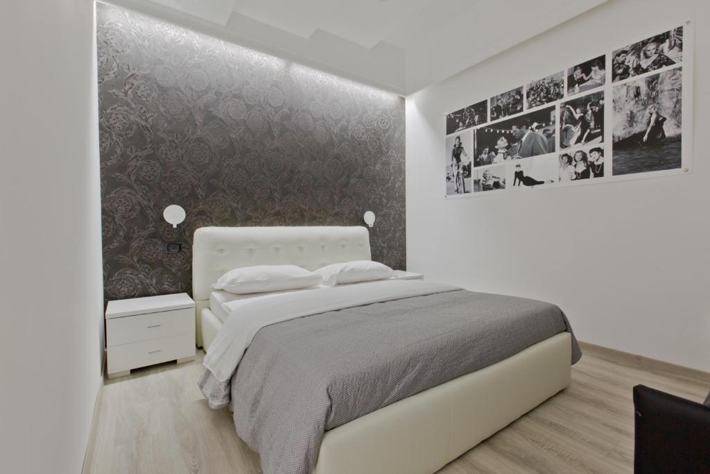 Letto o letti in una camera di New Rome house 2