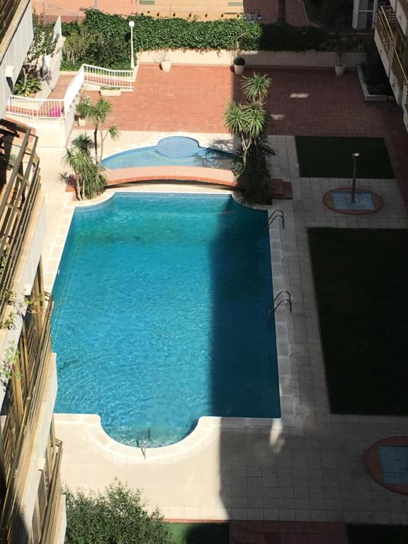 A view of the pool at Apartamento Nieves or nearby