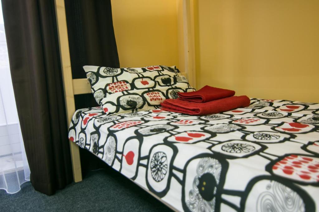 Кровать или кровати в номере Hostel Like Home
