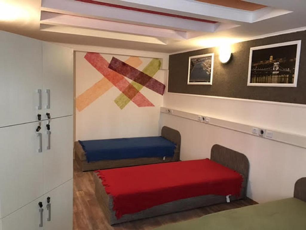 Część wypoczynkowa w obiekcie Opera Hostel Budapest