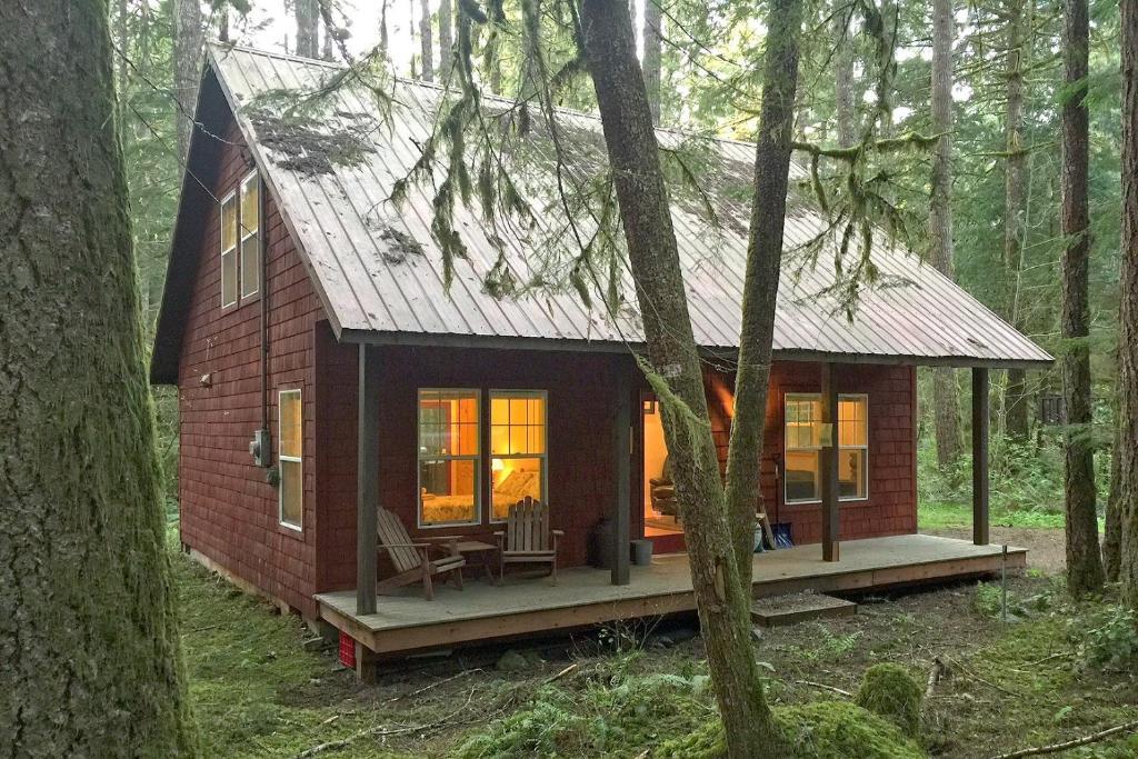 vacation home two bedroom cabin - 12, glacier, wa - booking