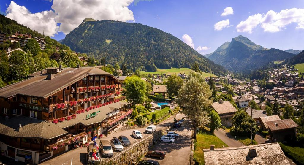A bird's-eye view of Le Dahu Hotel-Chalet de Tradition