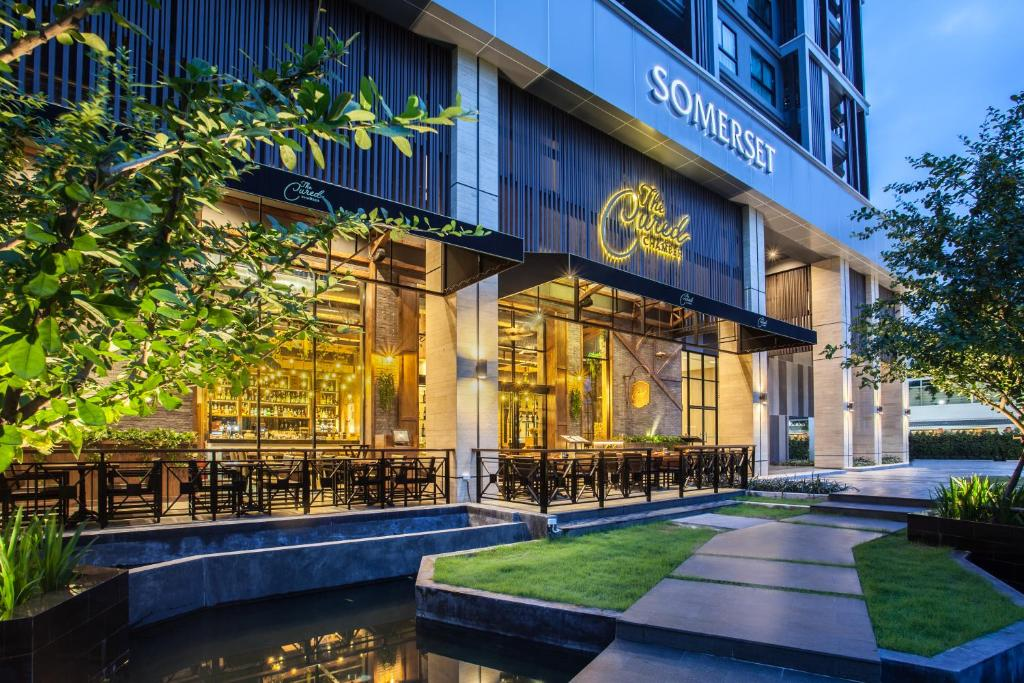 Somerset Ekamai Bangkok рядом с метро в Бангкоке