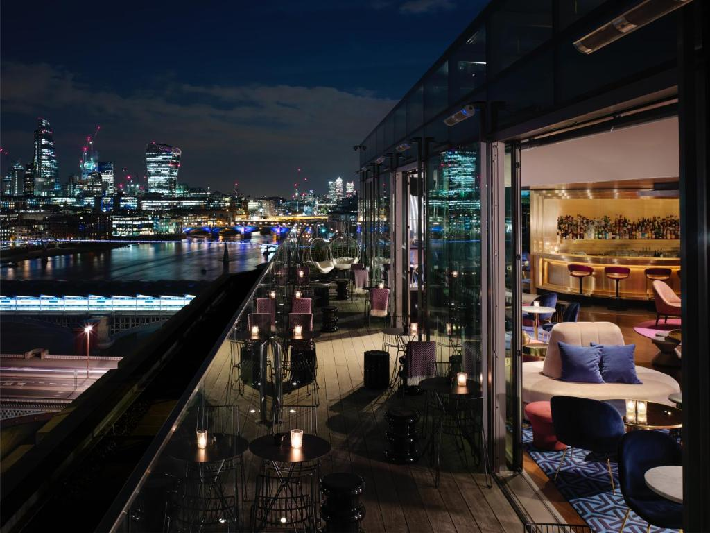 Mondrian Hotel London Location