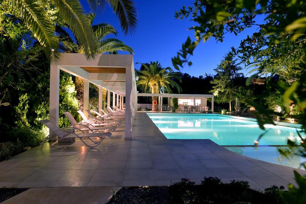 Πισίνα στο ή κοντά στο Corfu Palma Boutique Hotel
