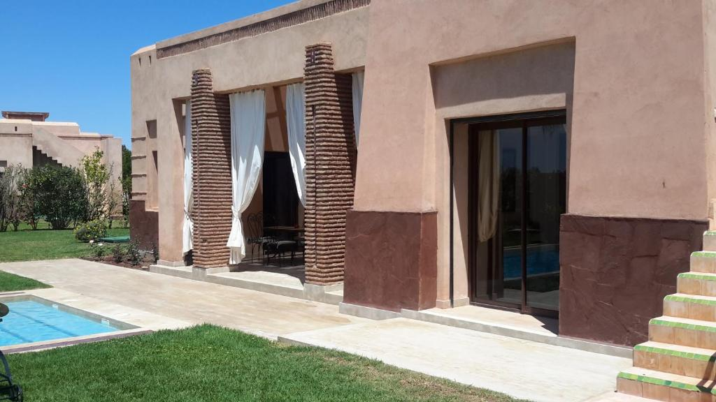 Villa privee de luxe avec piscine privee maroc marrakech for Piscine demontable maroc