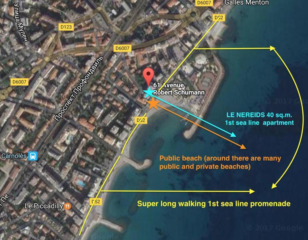 Apartment Les Nereids Beach RoquebruneCapMartin France Bookingcom