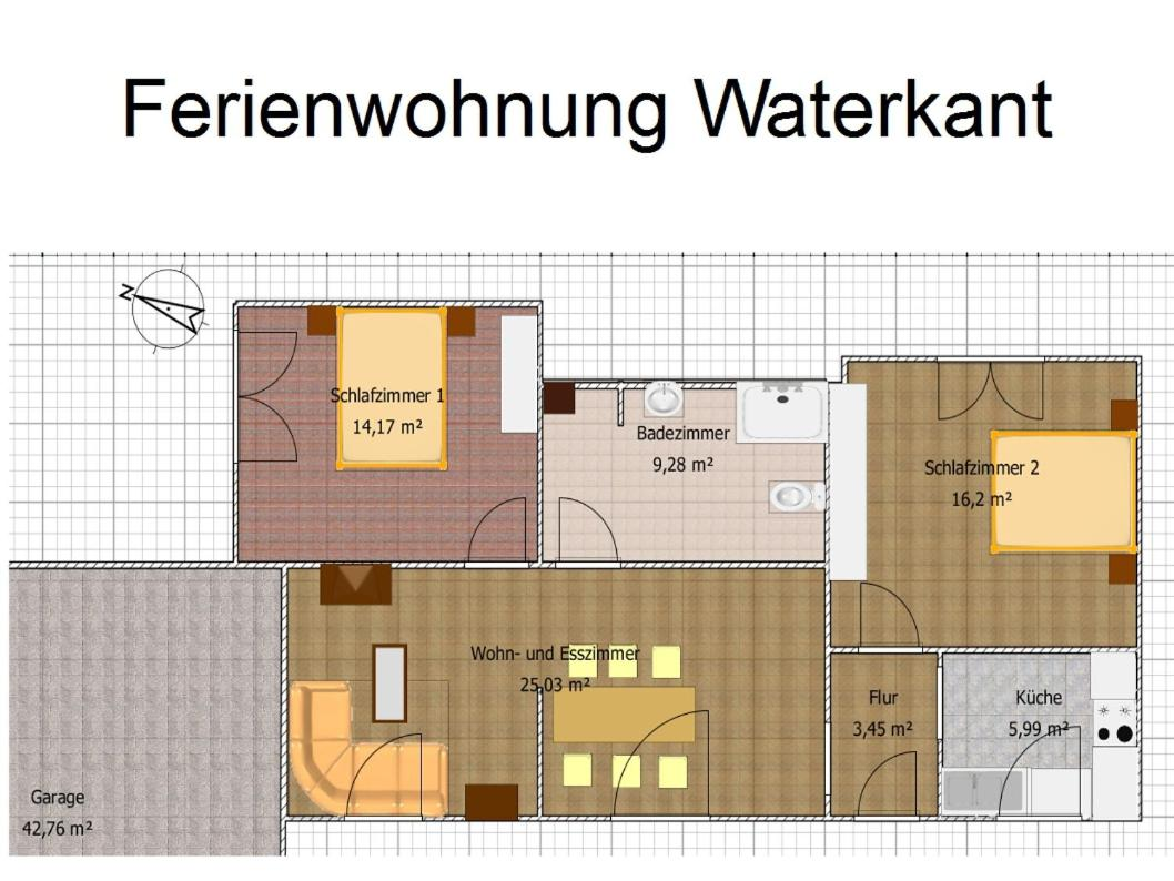 Apartment Ferienwohnung Waterkant, Cappeler Niederstrich, Germany    Booking.com