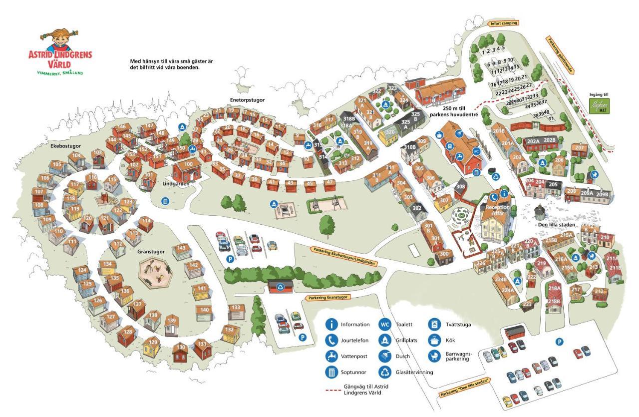 Karta Sverige Vimmerby.Astrid Lindgrens Varlds Gastboende I Vimmerby Uppdaterade Priser