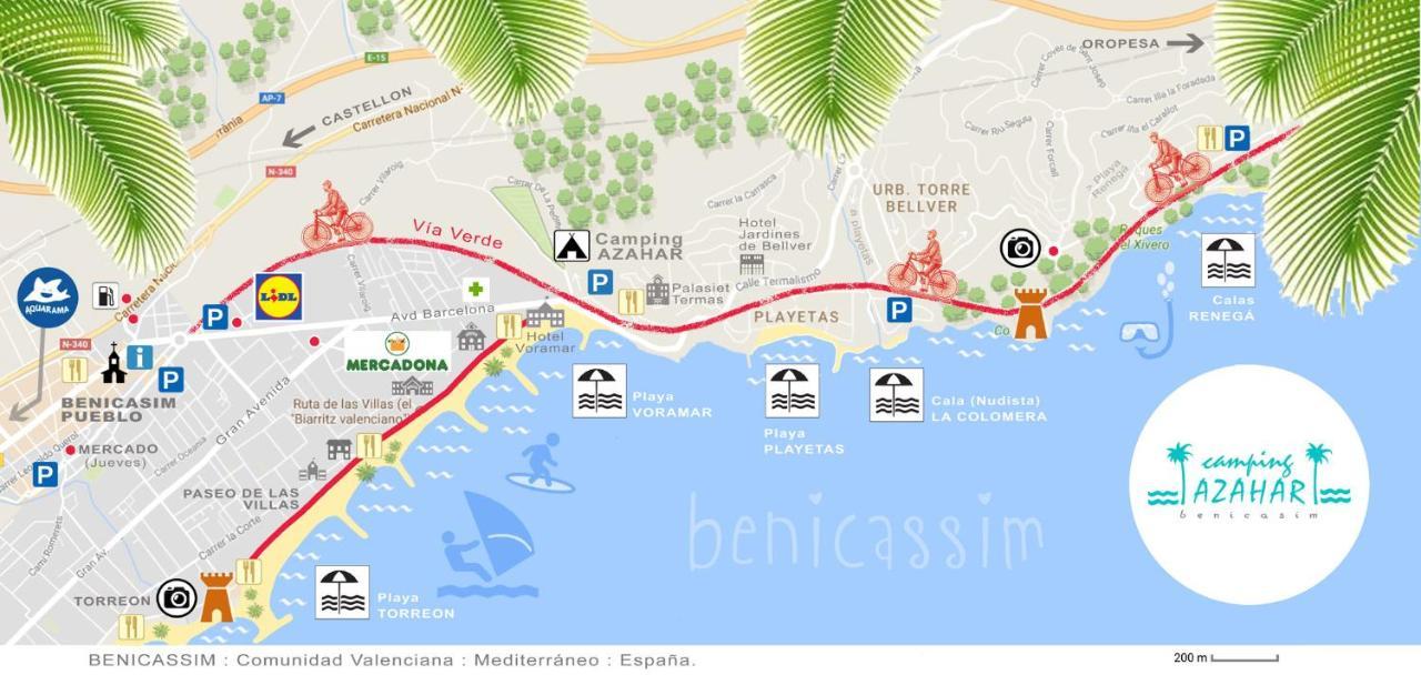 CAMPING AZAHAR Benicssim Spain Bookingcom