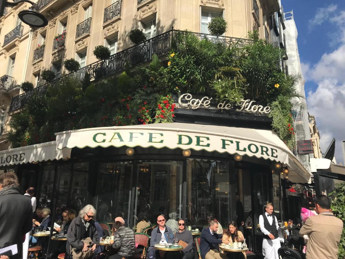 Resultado de imagen para EN PARIS brasserie Lipp, el bar Deux Magot y finalmente el Café de Flor,