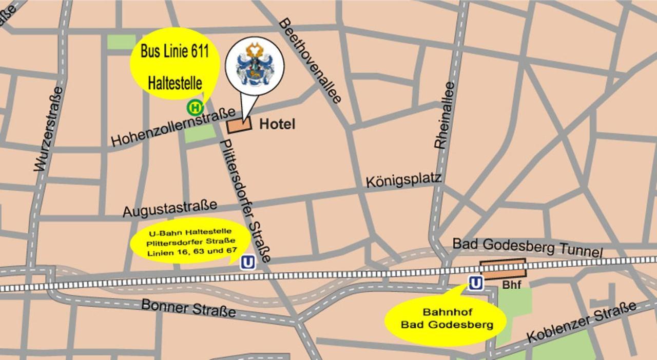 Hotel Akent Hohenzollernplatz Bonn Germany Bookingcom