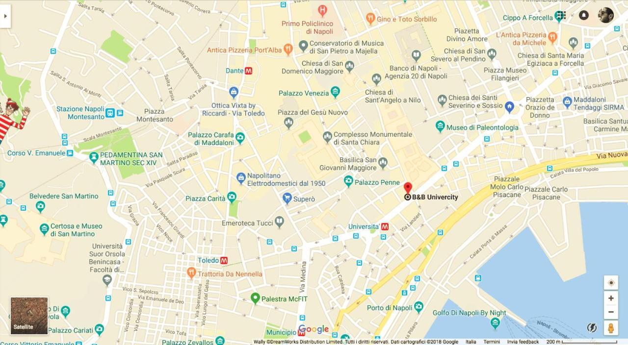 B&B Univercity, Νάπολη – Ενημερωμένες τιμές για το 2018