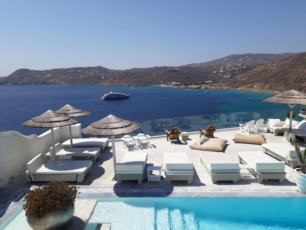 Greco Philia Hotel Boutique, 5 star hotel in Elia beach, Mykonos