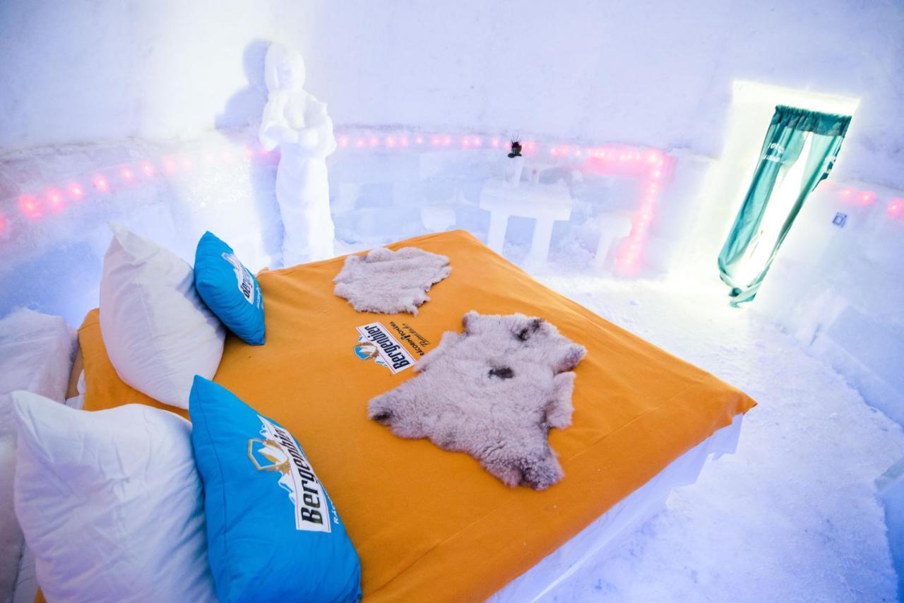 Озеро Балеа Ледяной отель