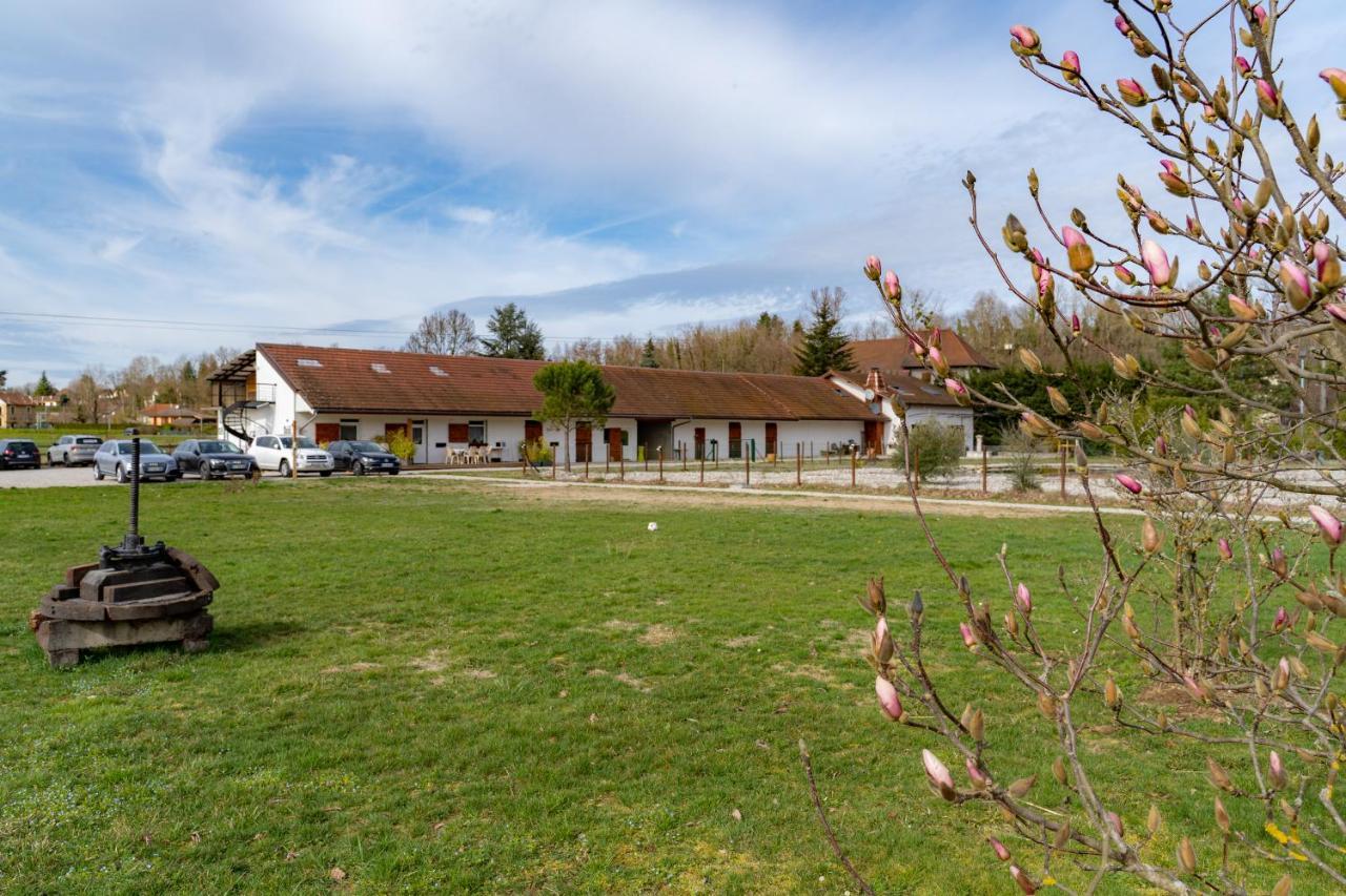 Vakantiehuis Domaine Les Hirondelles Frankrijk Domessin