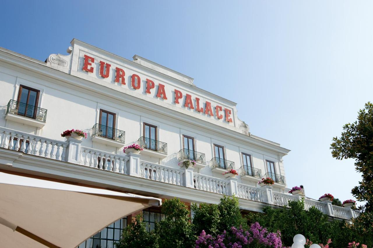 Grand Hotel Europa Palace Italien Sorrent Booking Com