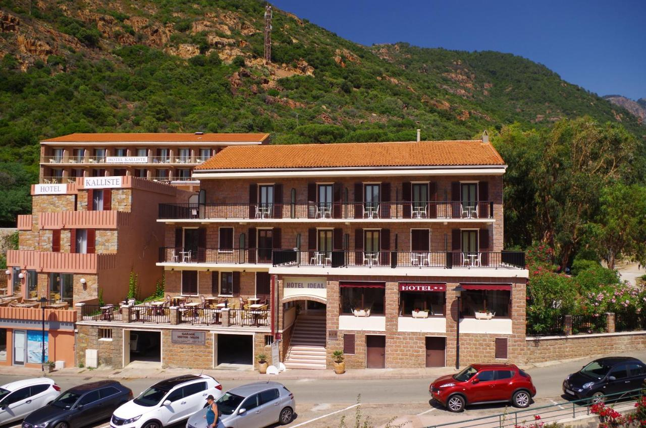 Carte Corse Porto Ota.Hotel Ideal Porto Ota Tarifs 2019
