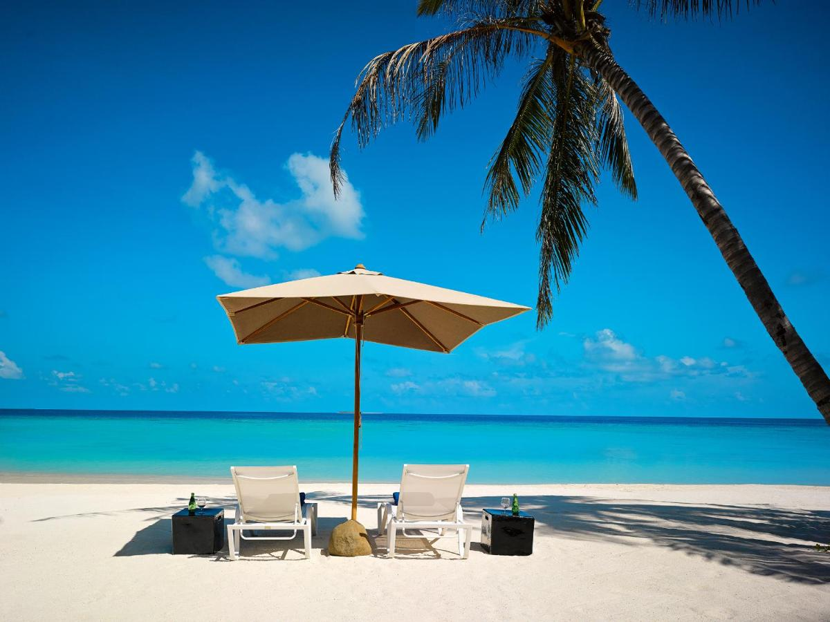 резорт на мальдивах с собственным пляжем