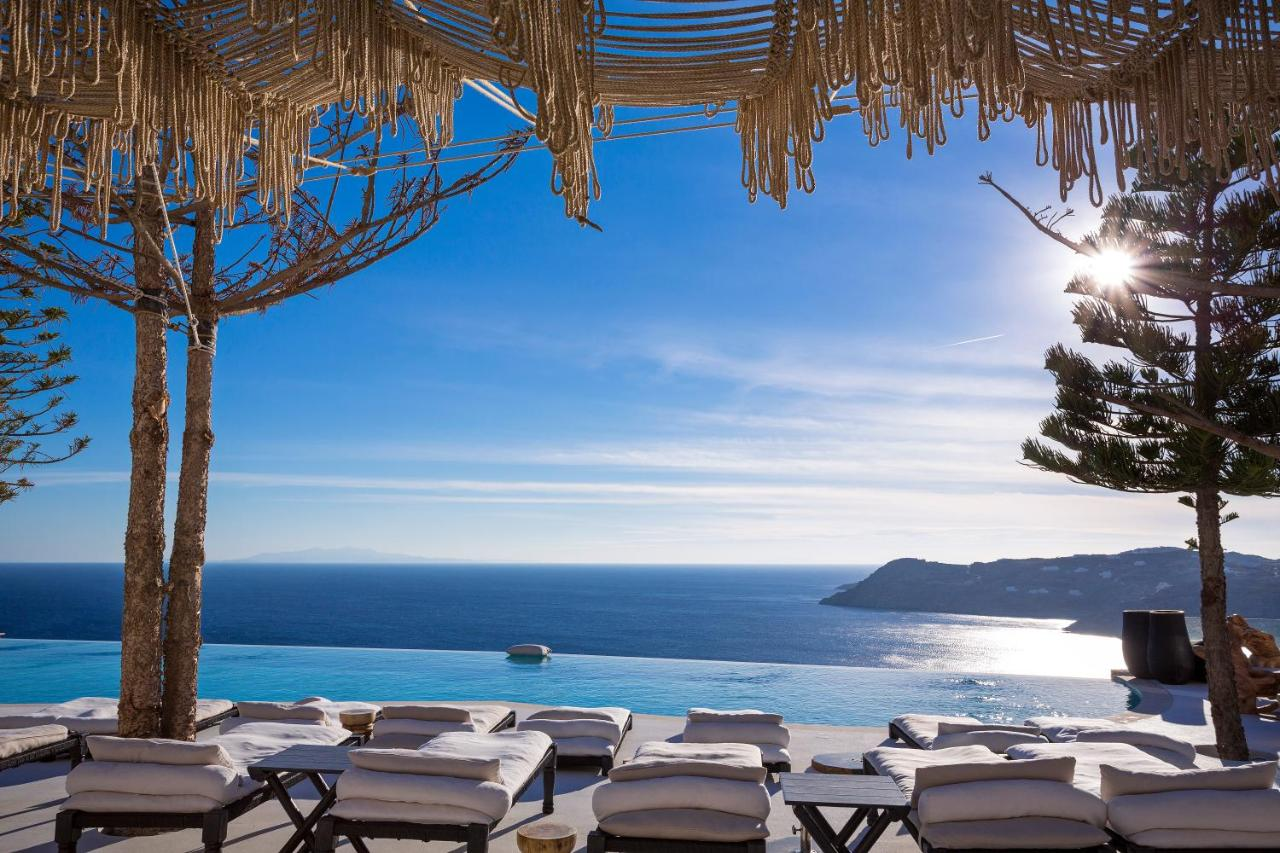 Myconian Utopia Resort in Elia Beach, Mykonos -One of the best 5 star hotels in Mykonos