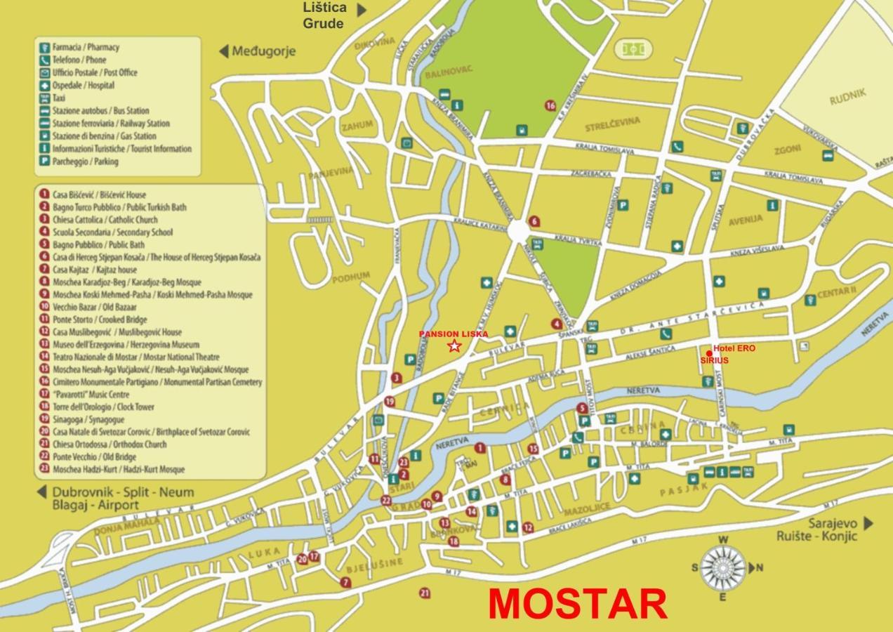 Guesthouse Liska Mostar Bosnia Herzegovina Booking Com