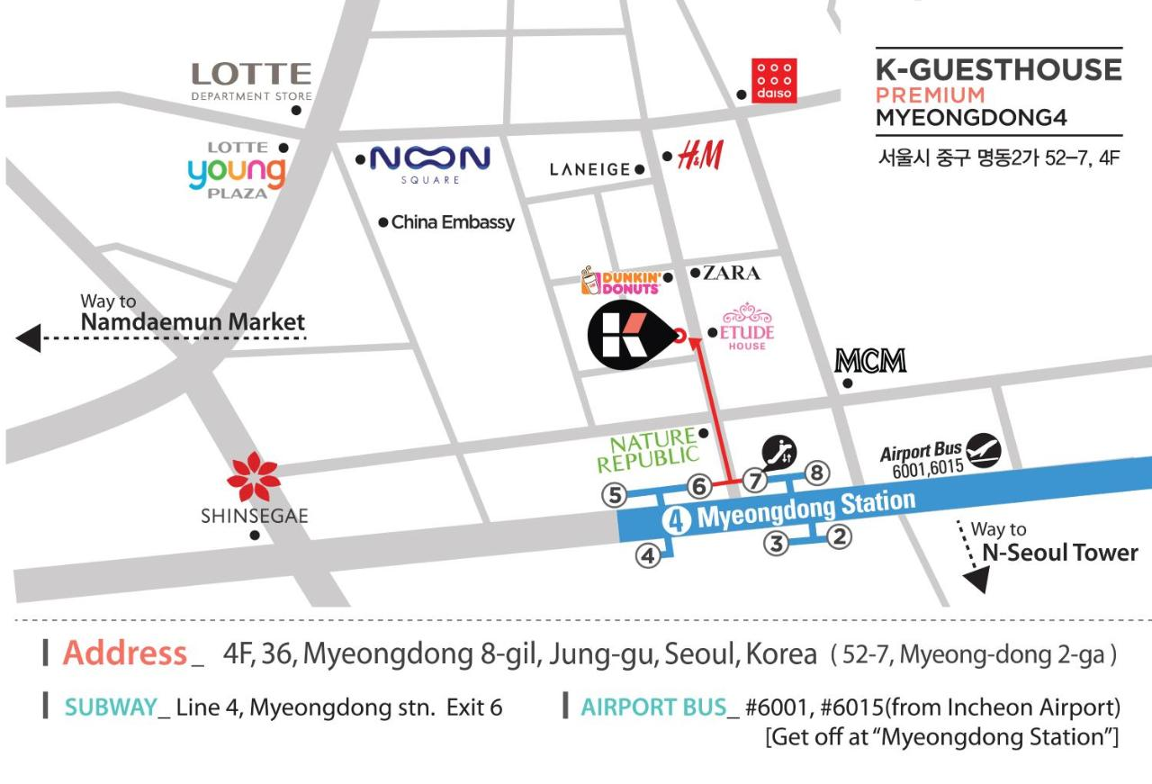 KGuesthouse Myeongdong 4 Seoul South Korea Bookingcom