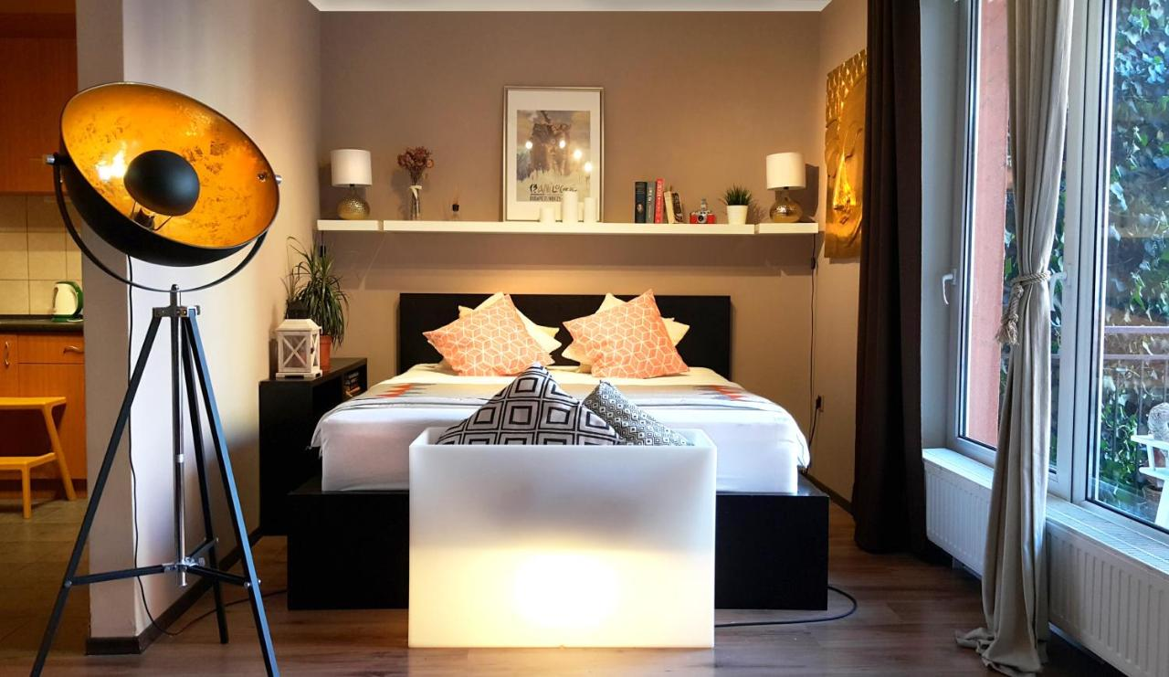 Apartment Inspirarta Studio Budapest Hungary Circuit Board Floor Lamp Beautiful Asian Paper Inspired