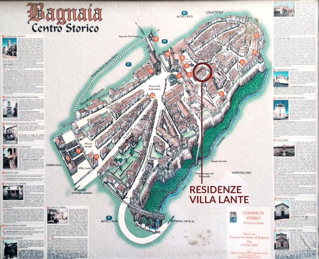 Residenze Villa Lante Viterbo Italy Bookingcom