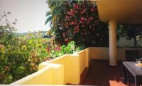 Quiet hillside apartment with beautiful terrace just 5 minutes walk from beach