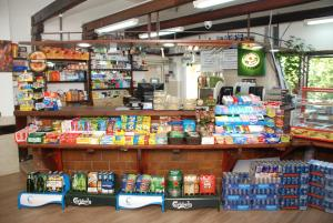 A supermarket or other shops at the chalet or nearby