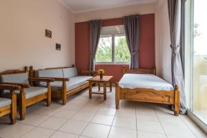 A bed or beds in a room at Mediterranean Sea