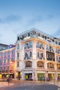 Internacional design hotel lisbon portugal for Design hotel lisbona