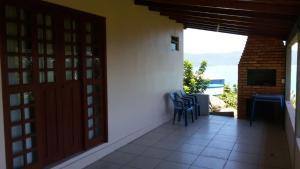 A balcony or terrace at Casa Visual