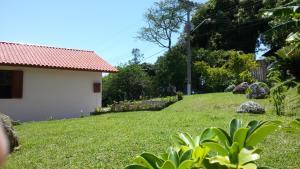 A garden outside Casa Visual