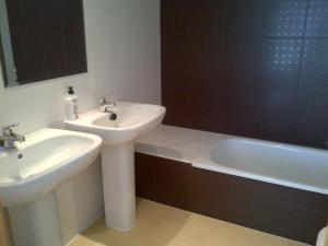 A bathroom at Mar Menor Resort