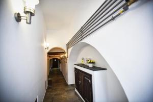 Küche/Küchenzeile in der Unterkunft YellowBoot Aparthotel