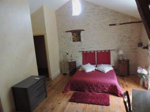Un ou plusieurs lits dans un hébergement de l'établissement Mas de Lucet