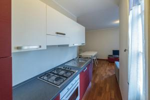 A kitchen or kitchenette at Casa Canonica