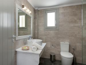 A bathroom at Casa Iphigenia